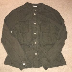 Maurice's light army green jacket